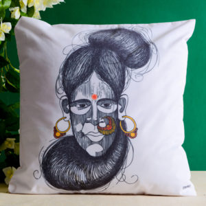 Lady Saint Cushion Cover